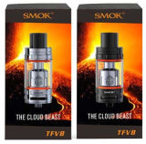 Tfv8 originales el tanque /Black/Silver Tfv8 de 6.0 ml venden al por mayor el cigarro de Vape y el cigarrillo electrónico