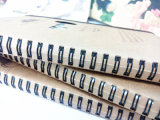 Meilleur Selling Customized 32k Kraftpaper Cover Spiral Notebook