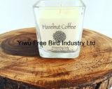 最も普及した自然な香料入りの大豆の蝋燭-ヘイゼルナッツのコーヒー