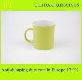 Kundenspezifisches förderndes keramisches Kaffeetasse-Großhandelscup