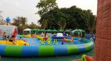 Het opblaasbare Commerciële Speelgoed van het Park van het Water, de Ronde Apparatuur van de Spelen van het Water van de Pool Opblaasbare