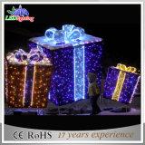 屋外のクリスマス装飾的なLED 3Dボックス庭の/Street/Mallの装飾ライト