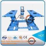 Double table élévatrice pneumatique automatique de véhicule de ciseaux