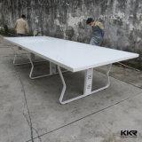 Kkr 단단한 지상 주문품 장방형 커피용 탁자 (V70329)