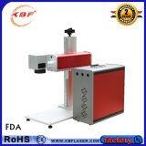 machine portative d'inscription de laser de la fibre 20With30With50W pour la carte