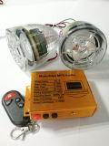 Système d'alarme de Motprcycle MP3 avec le bouton poussoir
