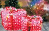 Свет занавеса веревочки света рождества звезды украшения улицы