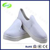 Sapatas de segurança antiestáticas roxas da lona do PVC ESD da alta qualidade (EGS-6037)