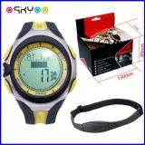 Pulse Rate Sensor Wireless 5.3k Transmission Calorie Counter Watch