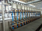 La machine de galvanisation d'IMMERSION chaude de fil avec du ce a certifié