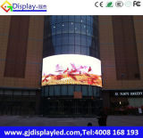 Visualización de LED a todo color al aire libre P10 para hacer publicidad/funcionamiento