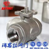 Tema flotante de acero inoxidable válvula de bola de 3 vías (T / L de puerto)
