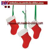 Le métal ouvre l'ornement promotionnel de Noël de trousseau de clés de support principal (G8036)