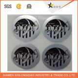 Personalizado transparente impermeable de PVC auto-adhesivo de papel de impresión de etiquetas engomada