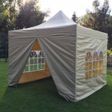3mx3mの最もよい品質によっては壁が付いているおおいの折るテントが現れる