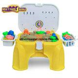 Playsand Stuhl-Strand Playset Sand Stuhl-Bewegung Sand-Spiel-Sand DIY scherzt Spielzeug-pädagogische Spielwaren