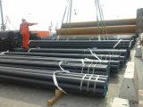 Tubulação de aço sem emenda conservada em estoque de carbono com 6 '' STD 40