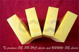 Quatre feuilles des couleurs UHMW-PE avec la taille personnalisée