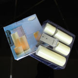 Form Remote Flameless LED Paraffin Wax Candle für Christmas