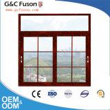 Facendo scorrere la finestra doppio Windows scorrevole di alluminio del balcone