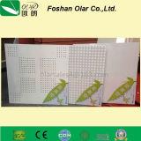 Instalação interna da placa de teto de fibra de cimento