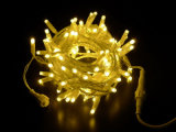 LEDの銅ストリングはカーテンの軽いクリスマスの装飾をつける