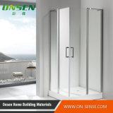 Quarto de chuveiro Walk-in de alumínio da porta para o banheiro