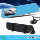 Dual Camera Car DVR Video Recorder 4.3 polegadas TFT LCD Mirror Monitor Xy-G500