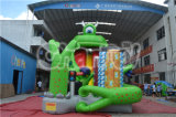2015 Special Design Inflatable Green The Schiffsrumpf Dry Slide für Sale