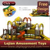 Детей высокого качества Ce спортивная площадка пластичных напольная для парка (X1501-8)