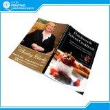 Livre de cuisinier de qualité d'impression
