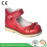 Graceorthoの子供の靴の学校は蹄鉄を打つ女の子の甘い整形治療用靴(4613548)に