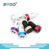 최신 판매 혼합 색깔 이중 USB 차 충전기