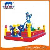 Castello rimbalzante piacevole, tipo castello gonfiabile del parco di divertimenti