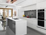 Armário de cozinha personalizado da pintura de Matt do projeto simples