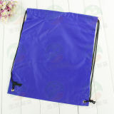 Kundenspezifisches Polyester 210d Drawstring Bag mit Log M.Y.D-012
