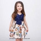Children Wear高品質の女の子の花の服の王女
