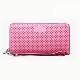 Сумка Wzx1064 имеющихся женщин розового тавра способа PU случая бумажника кожаный изготовленный на заказ