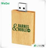 8GB palillo de madera libro en forma de USB de la capacidad plena (WY-W10)