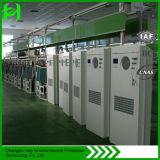 Condizionatore d'aria economizzatore d'energia fissato al muro esterno del Governo