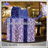 Luzes decorativas da decoração de /Street/Mall do jardim da caixa do diodo emissor de luz 3D do Natal ao ar livre