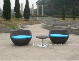 Jeux empilables de sofa de forme du vase Hc-W-Vc09 dans des meubles de jardin de rotin