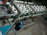 Halbautomatische multi Rolls-Toiletten-Seidenpapier-Verpackungsmaschine