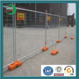 Heißes Sale Recycled Plastic Blocks Used in Australien Temporary Welded Wire Mesh Fence