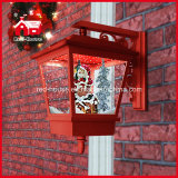 Home를 위한 산타클로스 Chimney Decorations Christmas Wall Light