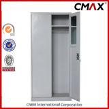 معدن خزانة مع مرآة وداخلة آمنة صندوق فولاذ [2-دوورس] [فيلينغ كبينت] [كمإكس-فك02-009]