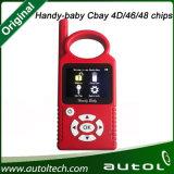 Venta caliente Handy Baby Cbay Coche Hand-Held coche llave de copia Programador de teclas para 4D / 46/48 Chips Key Programmer