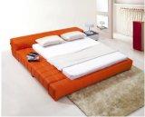 침실 사용 (B023)를 위한 Bed 다채로운 가죽 임금