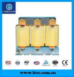 Reator de filtro trifásico de tipo seco para correção do fator de potência