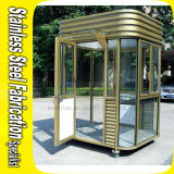 Kiosque portatif personnalisé de garantie d'acier inoxydable